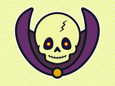 Little Scareglow: Evil Ghost of Toddler Skeletor universe toys toddler skull skeletor glow scare pop masters illustration culture 80s