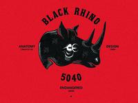 Black Rhino Badge