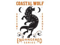 Coastal Wolf design