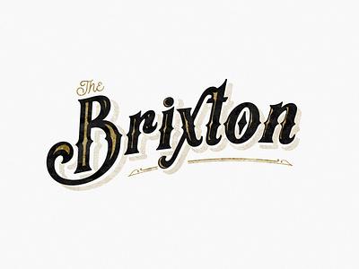 Brixton Logo vintage vector identity design design typography brand branding graphic design illustrator logo