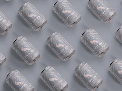Little Crow Brewing Co. packaging design beer can beer label label labeldesign beer packagingdesign branding brand illustration graphic design
