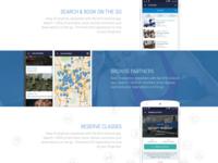 KFit Mobile App Landing