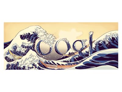 Doodle for Hokusai