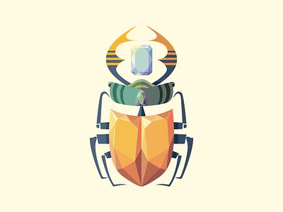 💎 Beetle 💎 insect gem jewel vector beetle
