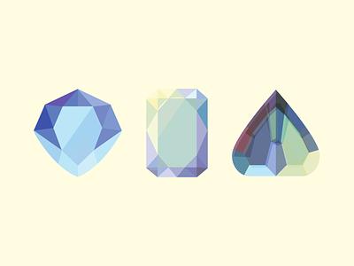 ✨ Jewels ✨ crystals jewel vector icon