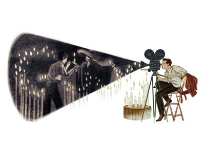 Doodle for Gabriel Figueroa director movie film figueroa logo google doodle doodle google