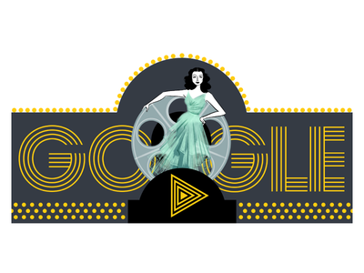 Doodle for Hedy Lamarr
