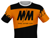T shirt design Montana Melee
