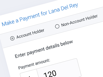 Payments UI