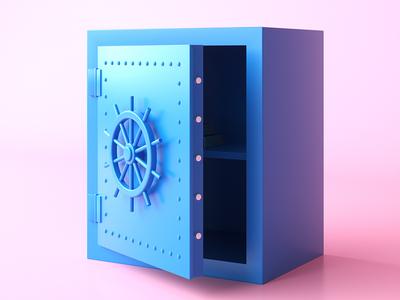 Secure render illustration 3d octane c4d