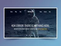 Web Page - 404 Error