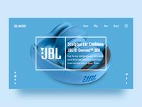 Web Page - JBL MUSIC