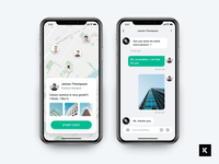 Daily UI Challenge - Chat Page