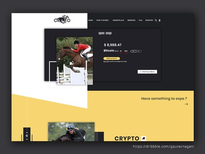 Crypto Betting Site Redesign