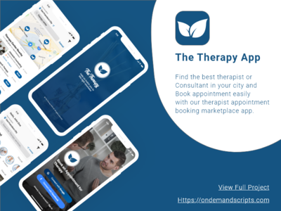 Therapy App - Therapy appointment booking app