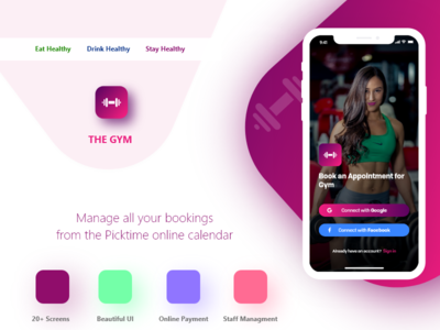 The Gym - The Gym Appointment Booking App