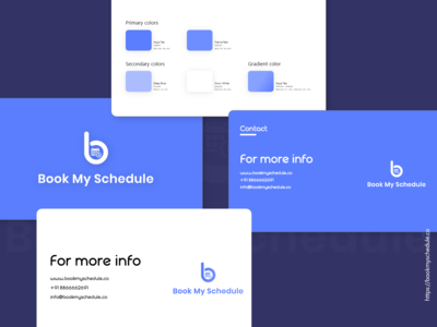 Book My Schedule   Brand Guideline