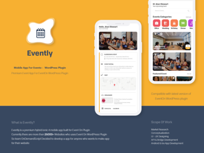 Evently - Mobile Apps For EventOn Wordpress Plugin