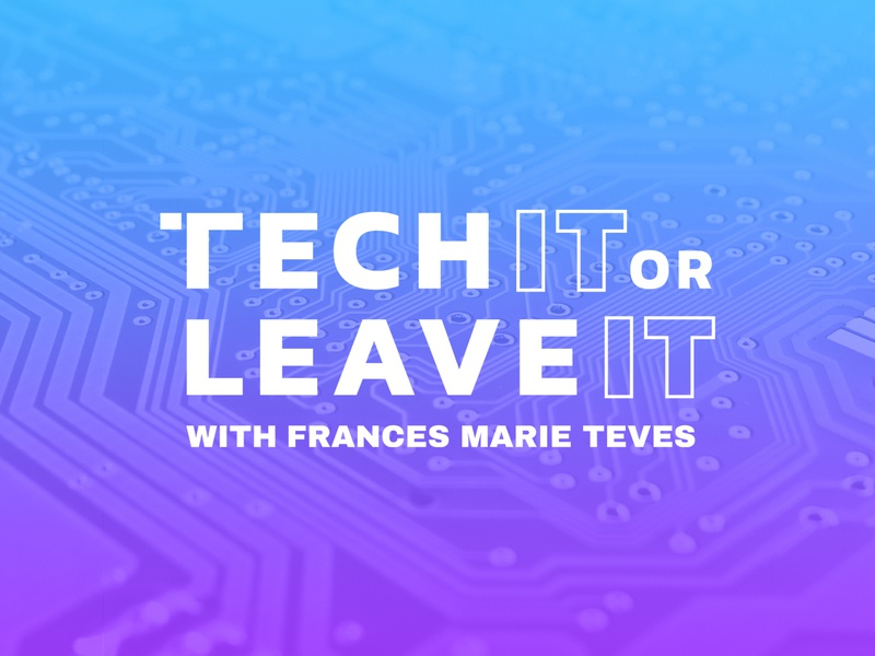 Tech IT or Leave IT podcasting podcast logo podcast art graphic design technology tech podcast logo mark symbol logo mark vector logo philippines design brand design cebu branding brand adobe photoshop adobe illustrator