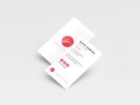 Yamada Publishing - Business card (2017)