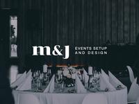 M & J | Events Setup and Design