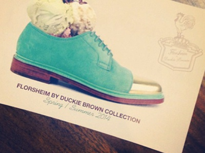 FLDB Ice Cream Card shoes nyfw fldb ice cream