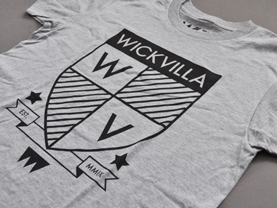 WV Crest wv wickvilla crest tshirt