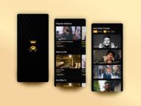 Luxury Salon App UI