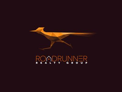 Roadrunner logo house realtor realty logo roadrunner