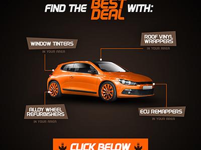 ImproveYourVehicle ad car advert ad flyer