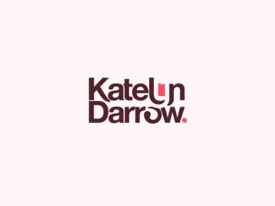 Katelyn Darrow Logo blog wordmark. logo