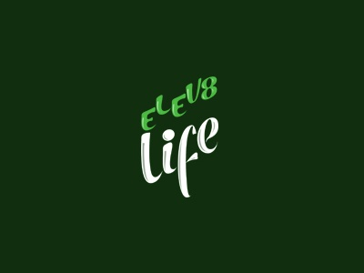 Elev8 Life Logo life lifestyle blog