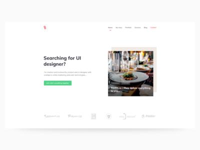UPward digital agency website