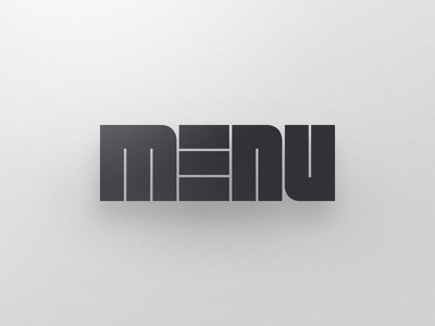 Menu giorgi bregvadze gio black white mark logo burger menu