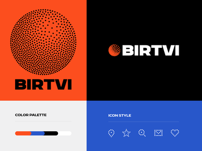 BIRTVI colors agency motors holy development mark bregvadze gio trending design logo identity brand icons branding dot blockchain birtvi core