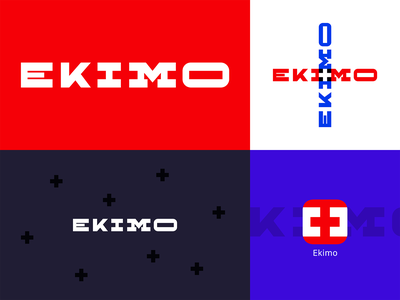 Ekimo - Medical app motors holy pattern wordmark medical mark logo identity icon gio doctor ekimo cross concept bregvadze branding brand application app agency