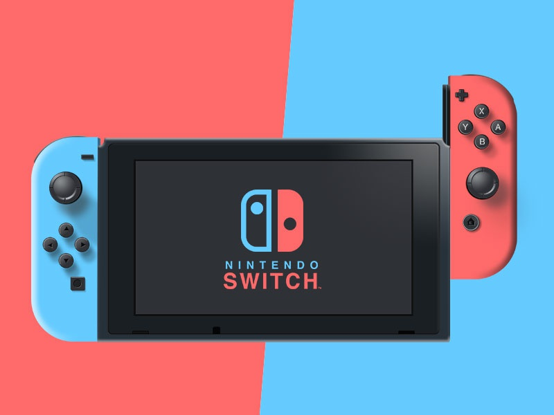 Nintendo Switch - Vectorial concept design console realistic vector freebie switch nintendo