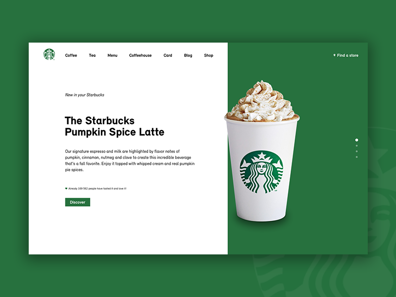Landing Page by Evie Bauland