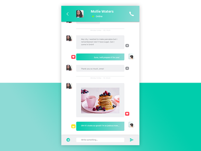 Daily UI 013 - Direct messaging messaging direct ui daily 013
