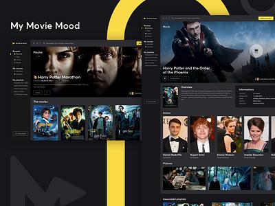 My Movie Mood - Playlist my movie mood mac ui desktop app mood movie