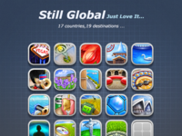 Stillglobal icons design