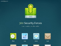 Security forces icons