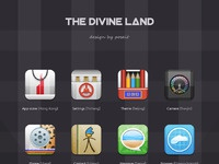The divine land icons