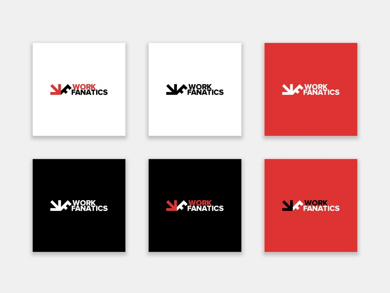 WorkFanatics brand design the netherlands mark vector logo marketing brand design branding