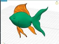 Rhino Matrix Tspline Fish Modeling