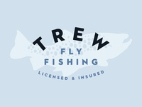 Trew Fly Fishing Logo Treatment