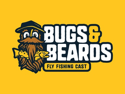 Bugs & Beards Fly Fishing Podcast Logo