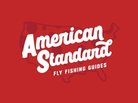 American Standard Fly Fishing Guides Logo