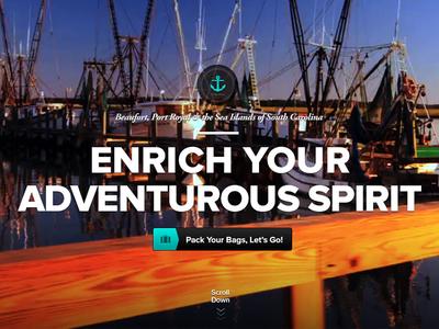 """""""Enrich Your Adventurous Spirit"""""""