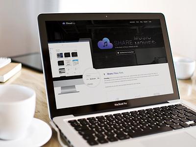 CloudApp Exercise ux ui cloud app